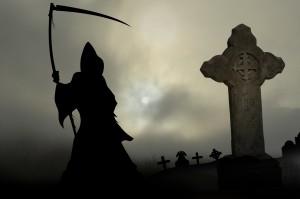 misty mort 7. grim reaper in graveyard